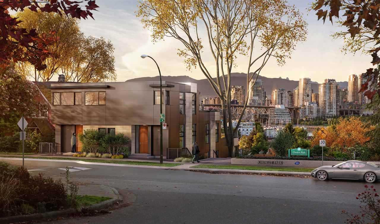 Townhouse at TH2 1107 W 7TH AVENUE, Unit TH2, Vancouver West, British Columbia. Image 5