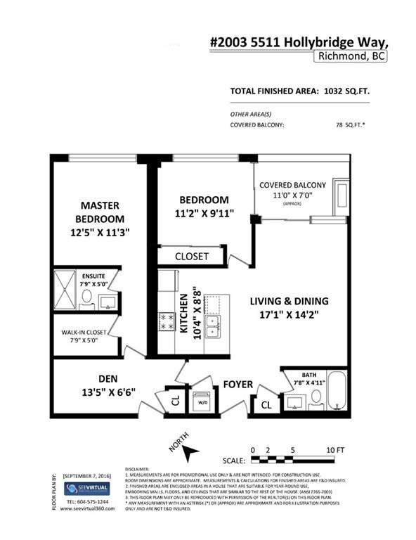 Condo Apartment at 2005 5511 HOLLYBRIDGE WAY, Unit 2005, Richmond, British Columbia. Image 2