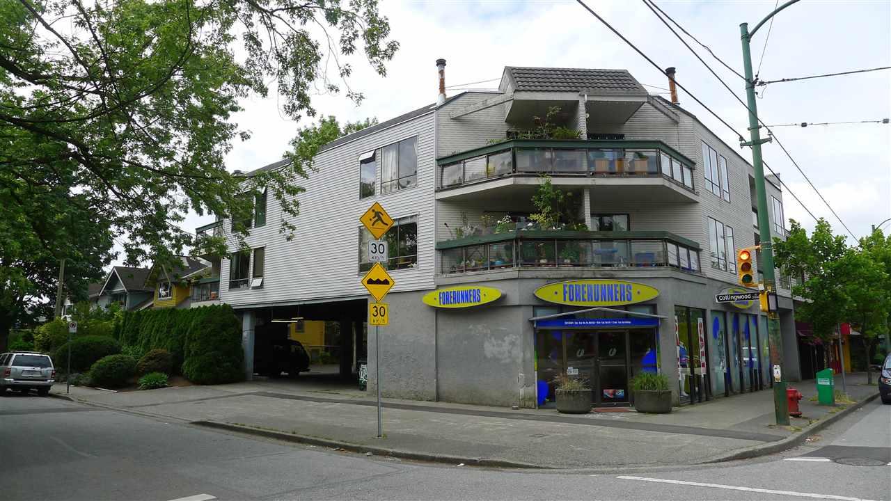 Condo Apartment at 201 3506 W 4TH AVENUE, Unit 201, Vancouver West, British Columbia. Image 1