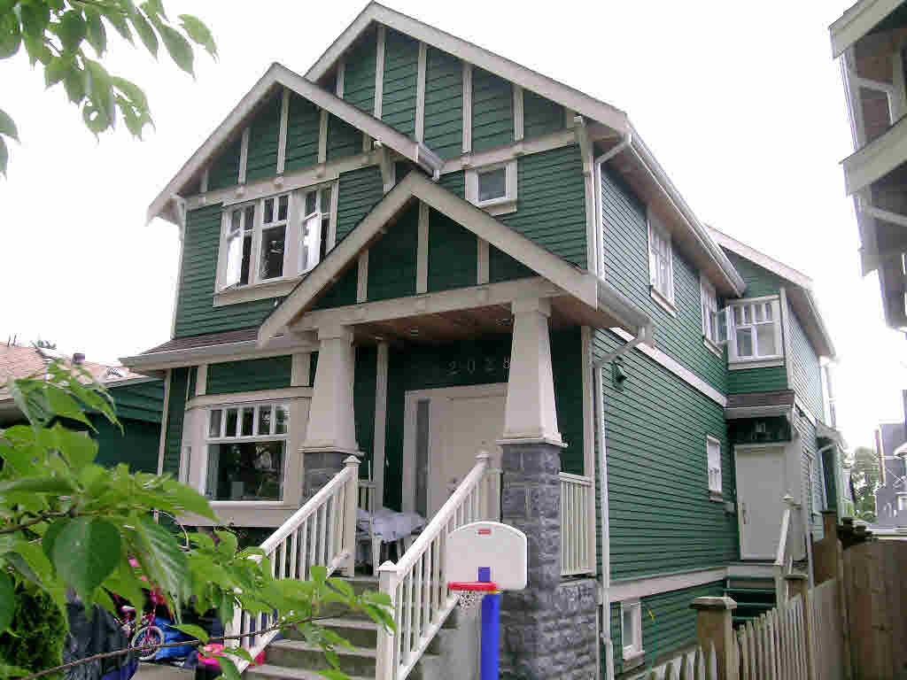 Half-duplex at 2026 E BROADWAY, Vancouver East, British Columbia. Image 1