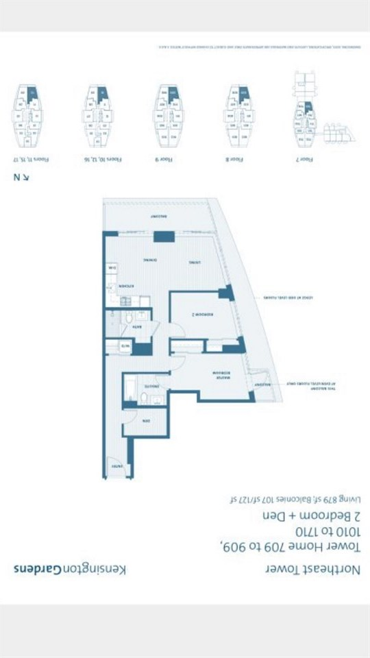 Condo Apartment at 1010 2220 KINGSWAY, Unit 1010, Vancouver East, British Columbia. Image 2