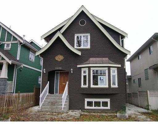 Half-duplex at 2020 E BROADWAY, Vancouver East, British Columbia. Image 1