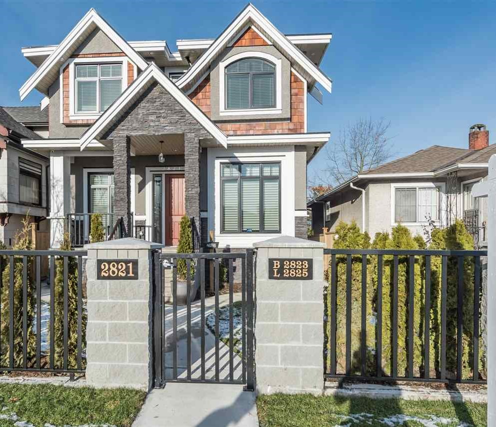 Detached at 2821 MCGILL STREET, Vancouver East, British Columbia. Image 1