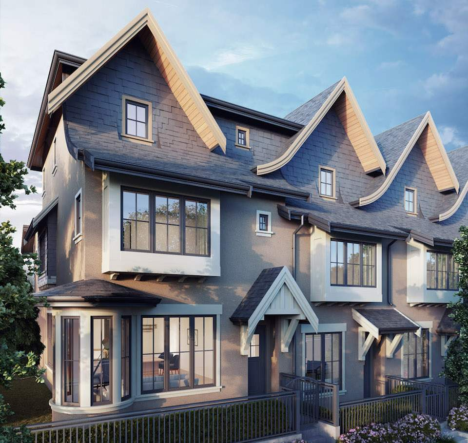 Townhouse at 8139 SHAUGHNESSY STREET, Vancouver West, British Columbia. Image 1