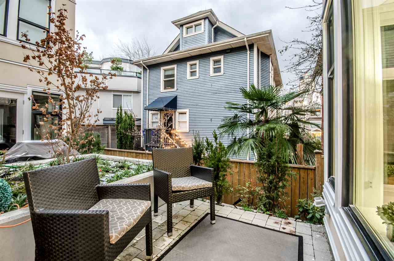 Townhouse at 1070 NICOLA STREET, Vancouver West, British Columbia. Image 19