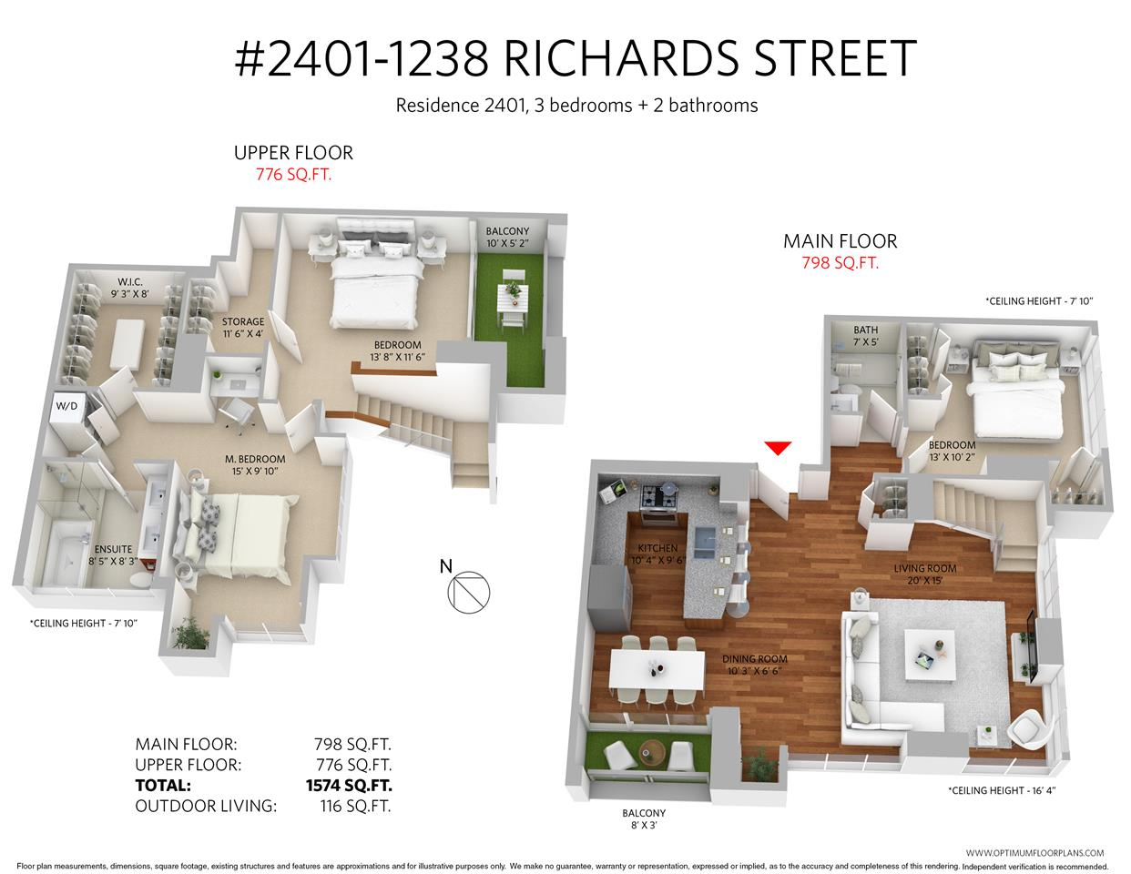 Condo Apartment at 2401 1238 RICHARDS STREET, Unit 2401, Vancouver West, British Columbia. Image 20