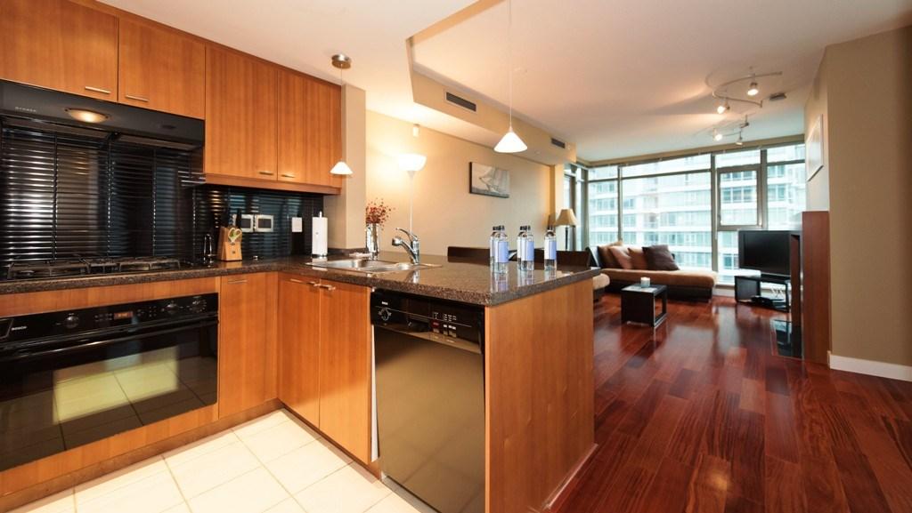 Condo Apartment at 1201 1680 BAYSHORE DRIVE, Unit 1201, Vancouver West, British Columbia. Image 7