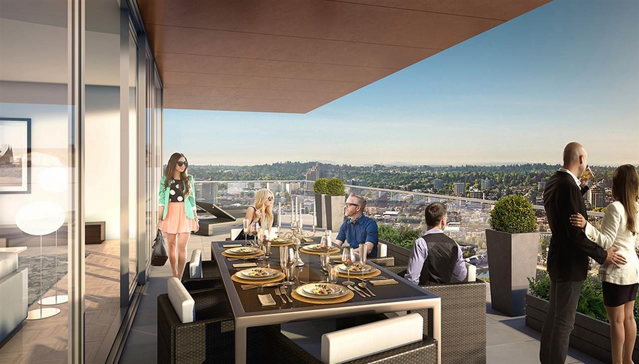 Condo Apartment at 2802 1480 HOWE STREET, Unit 2802, Vancouver West, British Columbia. Image 9