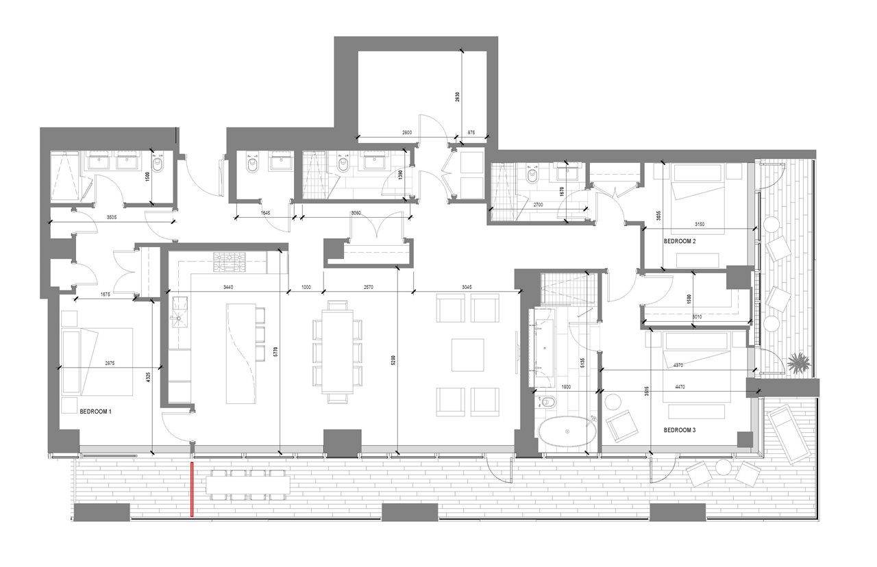 Condo Apartment at 5001 1480 HOWE STREET, Unit 5001, Vancouver West, British Columbia. Image 14