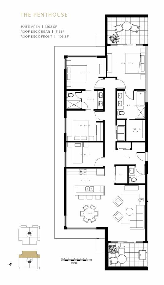 Condo Apartment at PH2 7828 GRANVILLE STREET, Unit PH2, Vancouver West, British Columbia. Image 16