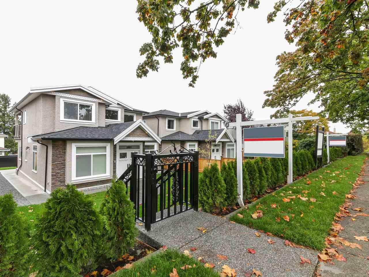 Half-duplex at 5891 BRYANT STREET, Burnaby South, British Columbia. Image 1