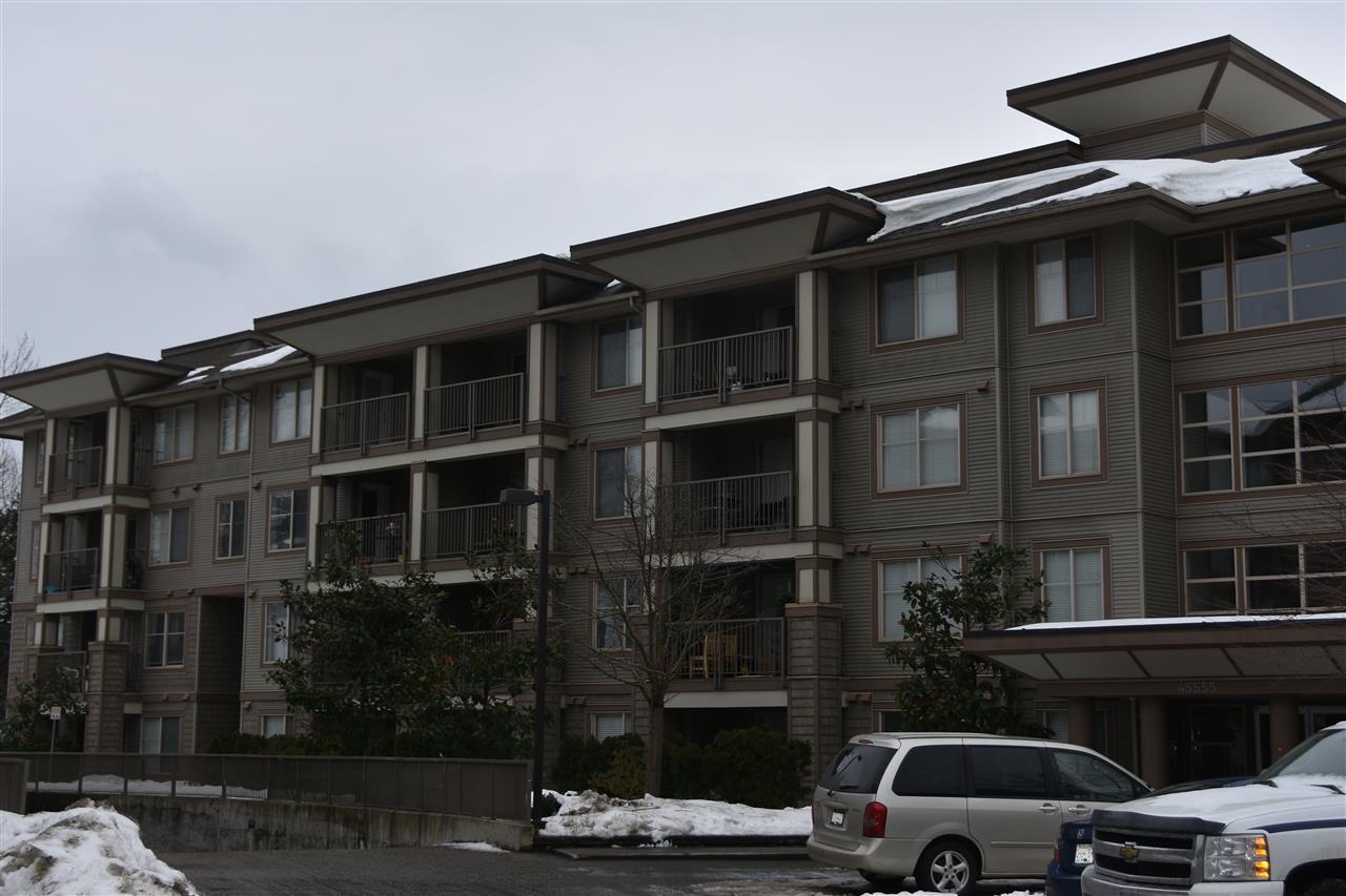Condo Apartment at 413 45555 YALE ROAD, Unit 413, Chilliwack, British Columbia. Image 1