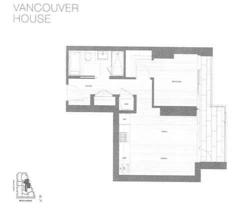 Condo Apartment at 3010 1480 HOWE STREET, Unit 3010, Vancouver West, British Columbia. Image 9