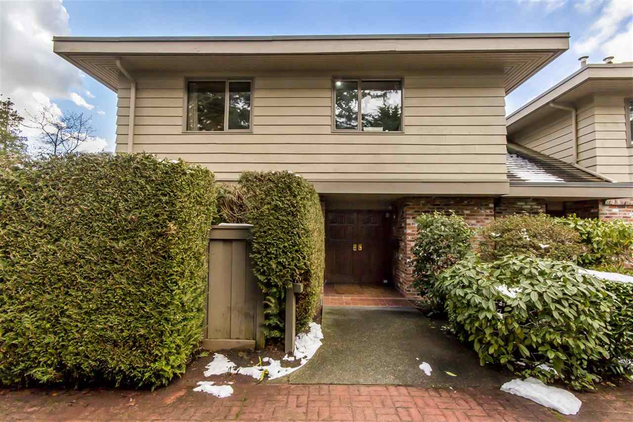 Townhouse at 68 4900 CARTIER STREET, Unit 68, Vancouver West, British Columbia. Image 1