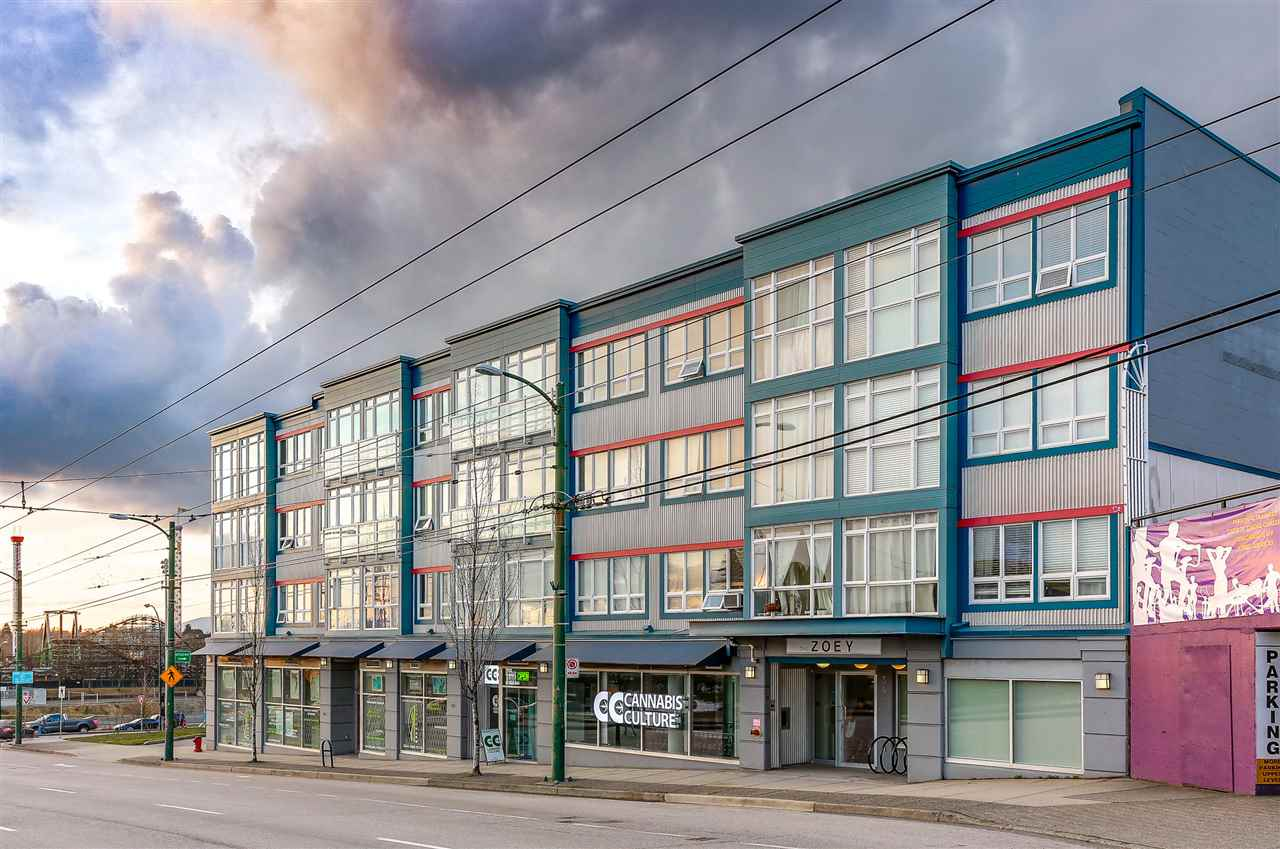 Condo at 202 3423 E HASTINGS STREET, Unit 202, Vancouver East, British Columbia. Image 1