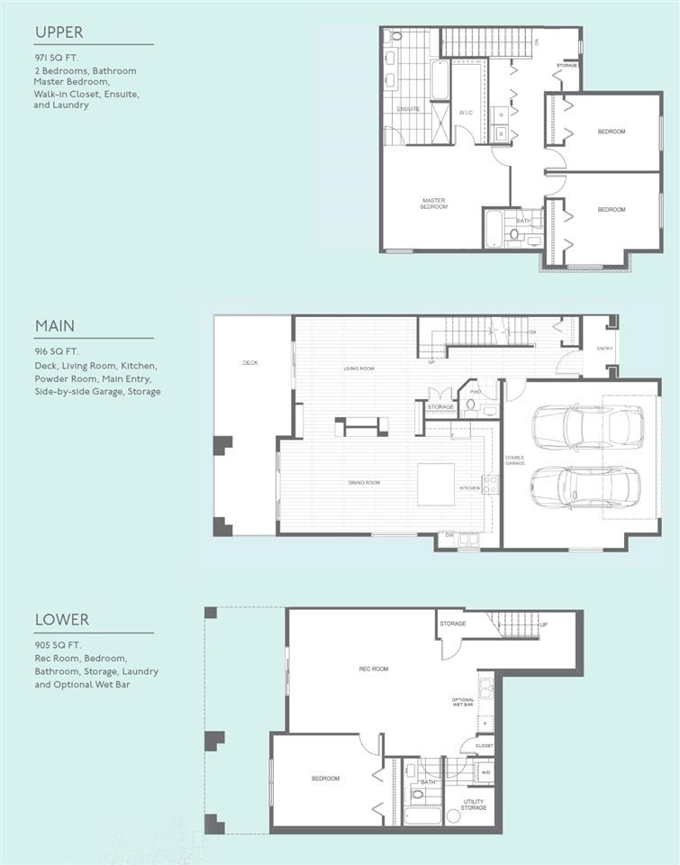 Townhouse at 69 15677 28 AVENUE, Unit 69, South Surrey White Rock, British Columbia. Image 20