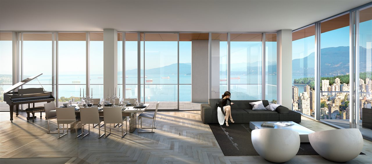 Condo Apartment at 4705 1480 HOWE STREET, Unit 4705, Vancouver West, British Columbia. Image 2