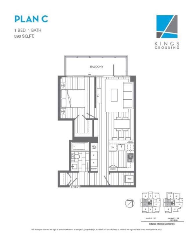 Condo Apartment at 911 7388 KINGSWAY, Unit 911, Burnaby East, British Columbia. Image 2