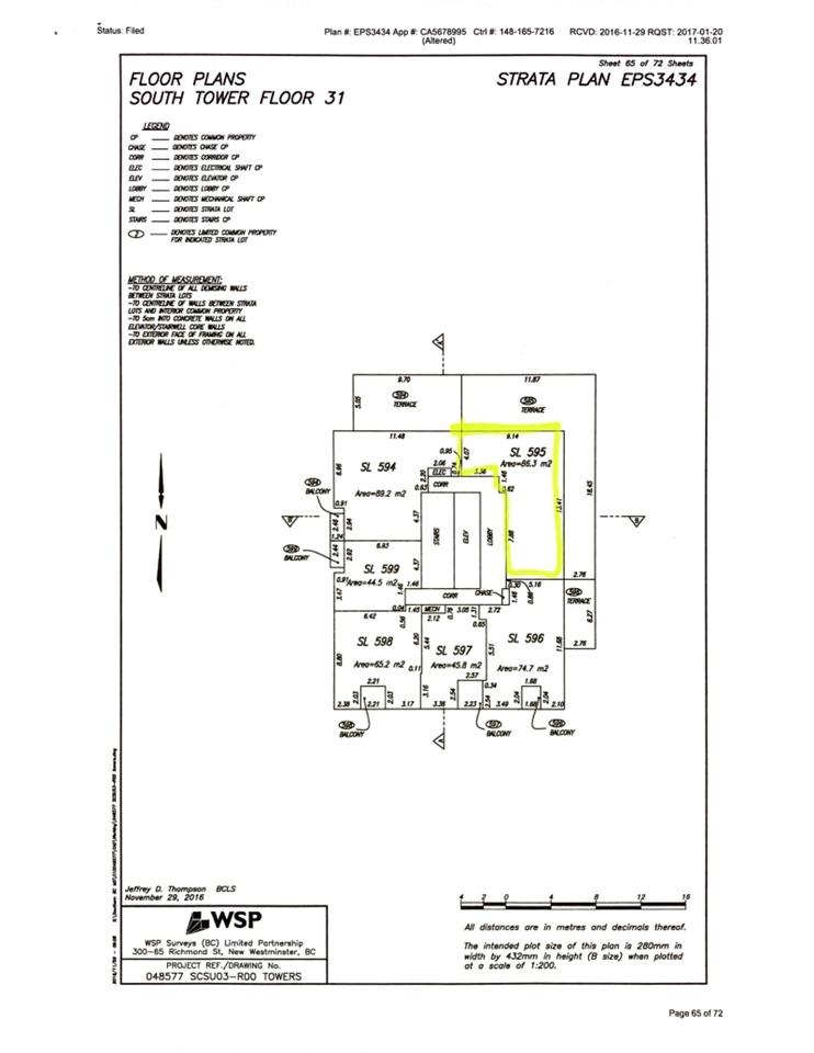 Condo Apartment at 3102 5665 BOUNDARY ROAD, Unit 3102, Vancouver East, British Columbia. Image 18