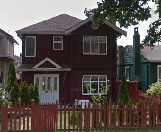 Half-duplex at 2046 E BROADWAY, Vancouver East, British Columbia. Image 1