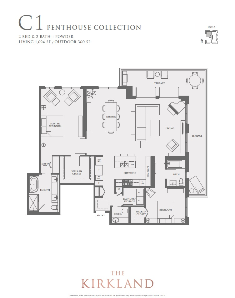 Condo Apartment at 501 6168 EAST BOULEVARD, Unit 501, Vancouver West, British Columbia. Image 6