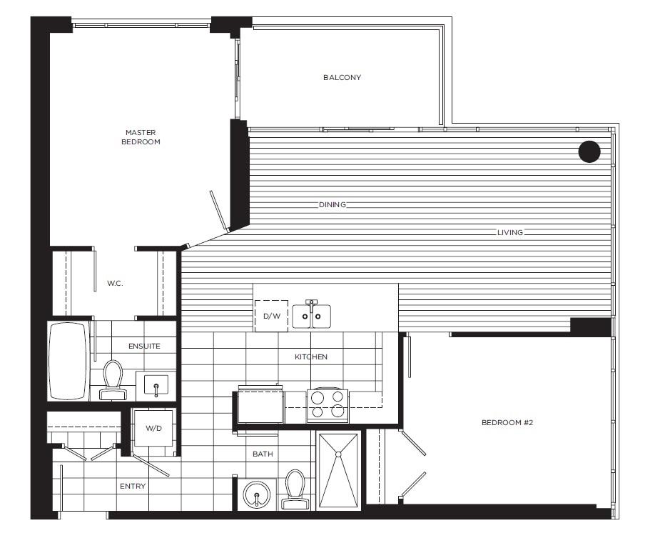 Condo Apartment at 601 6888 ALDERBRIDGE WAY, Unit 601, Richmond, British Columbia. Image 2