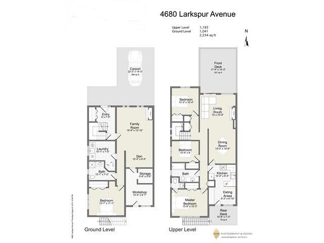 Half-duplex at 4680 LARKSPUR AVENUE, Richmond, British Columbia. Image 7