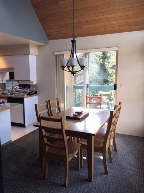 Townhouse at 208 4865 PAINTED CLIFF ROAD, Unit 208, Whistler, British Columbia. Image 3