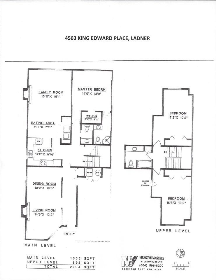 Half-duplex at 4563 KING EDWARD PLACE, Ladner, British Columbia. Image 20