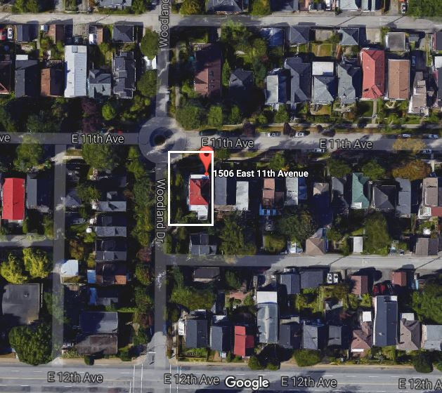 Vacant Land at 1506 E 11TH AVENUE, Vancouver East, British Columbia. Image 1