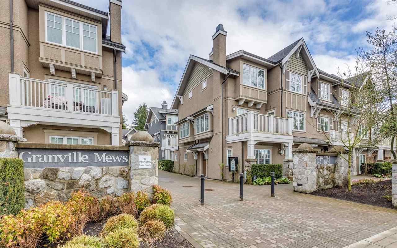 Townhouse at 1496 TILNEY MEWS, Vancouver West, British Columbia. Image 1