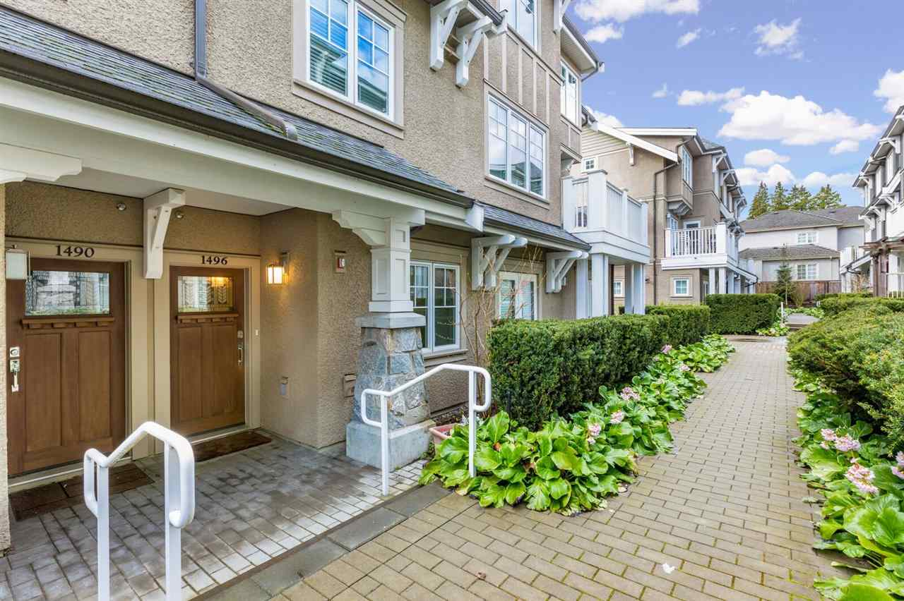 Townhouse at 1496 TILNEY MEWS, Vancouver West, British Columbia. Image 2