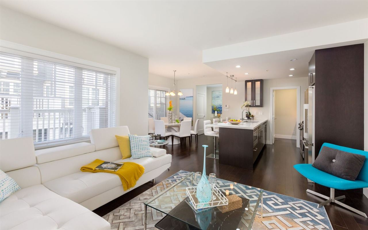 Townhouse at 1496 TILNEY MEWS, Vancouver West, British Columbia. Image 3