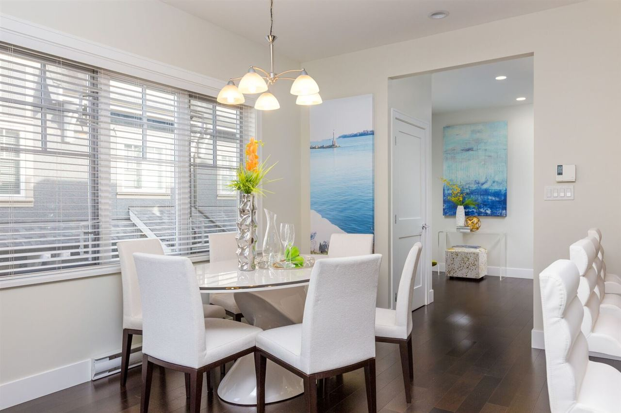 Townhouse at 1496 TILNEY MEWS, Vancouver West, British Columbia. Image 6