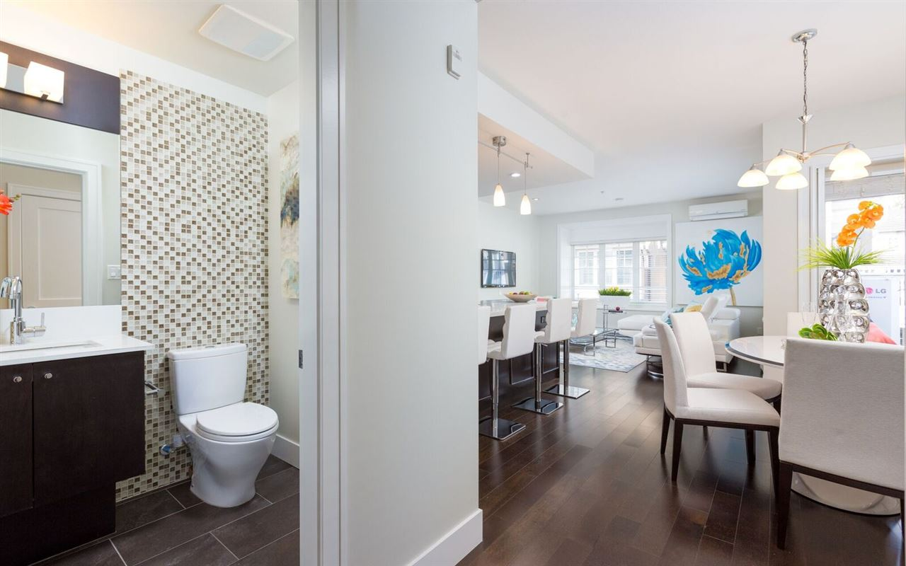 Townhouse at 1496 TILNEY MEWS, Vancouver West, British Columbia. Image 7