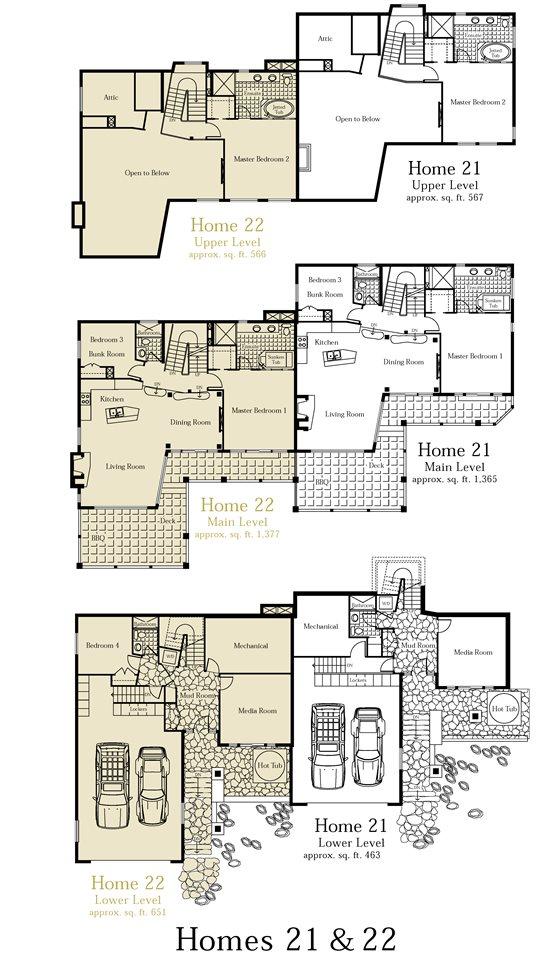 Half-duplex at 22 E 2300 NORDIC DRIVE, Unit 22 E, Whistler, British Columbia. Image 10