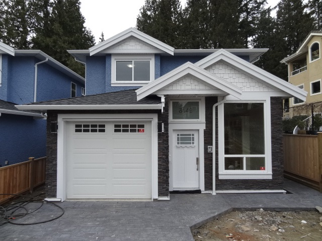 Half-duplex at 8149 MCGREGOR AVENUE, Burnaby South, British Columbia. Image 1