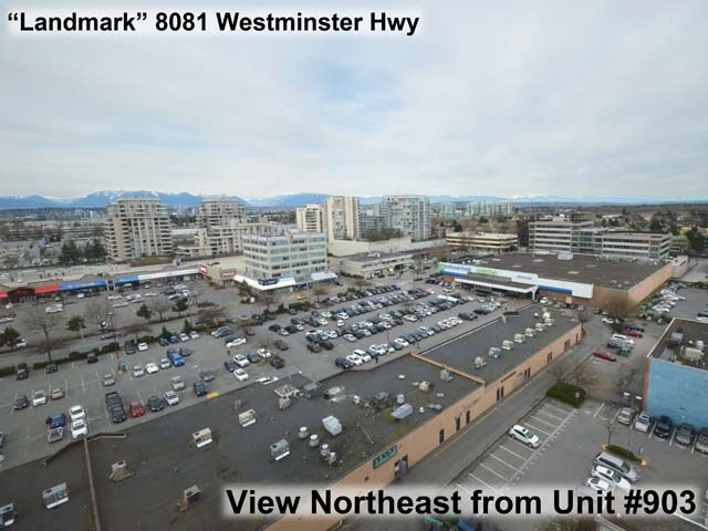 Condo Apartment at 903 8081 WESTMINSTER HIGHWAY, Unit 903, Richmond, British Columbia. Image 1