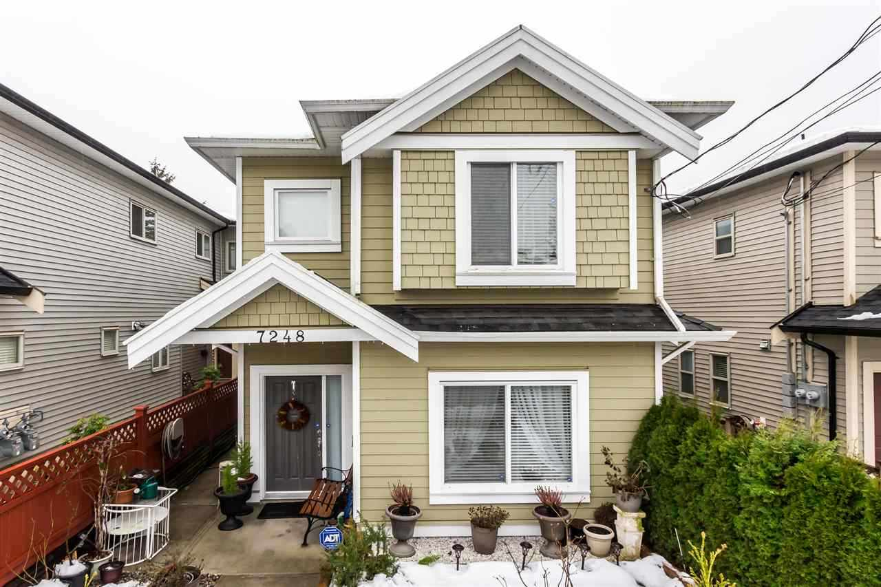 Half-duplex at 7248 STRIDE AVENUE, Burnaby East, British Columbia. Image 1
