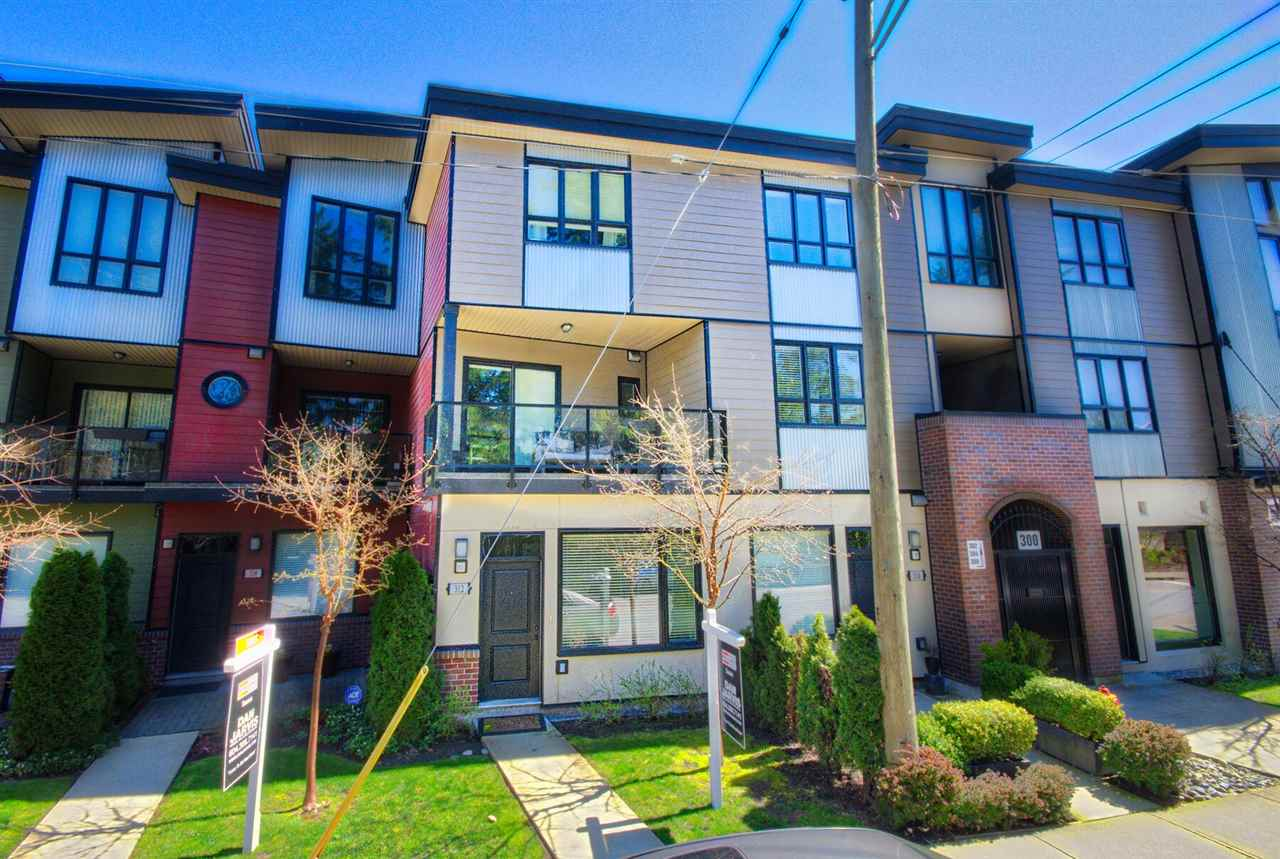 Townhouse at 312 SEYMOUR RIVER PLACE, North Vancouver, British Columbia. Image 1