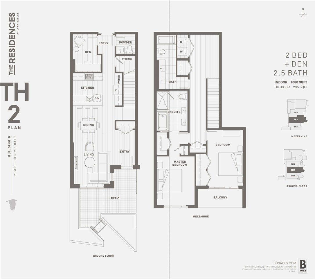 Townhouse at TH9 1256 27TH STREET, Unit TH9, North Vancouver, British Columbia. Image 12