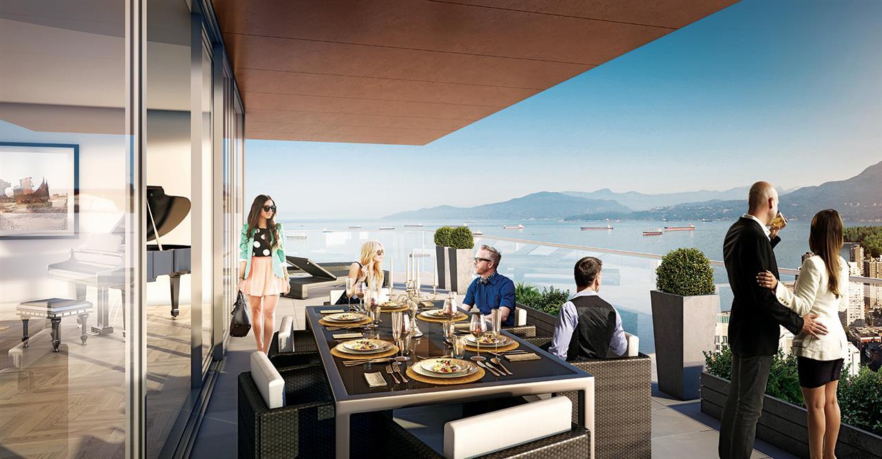 Condo Apartment at 5205 1480 HOWE STREET, Unit 5205, Vancouver West, British Columbia. Image 3