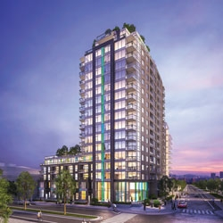 Condo Apartment at 1802 1708 ONTARIO STREET, Unit 1802, Vancouver East, British Columbia. Image 1