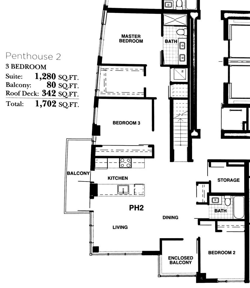 Condo Apartment at 1802 1708 ONTARIO STREET, Unit 1802, Vancouver East, British Columbia. Image 3