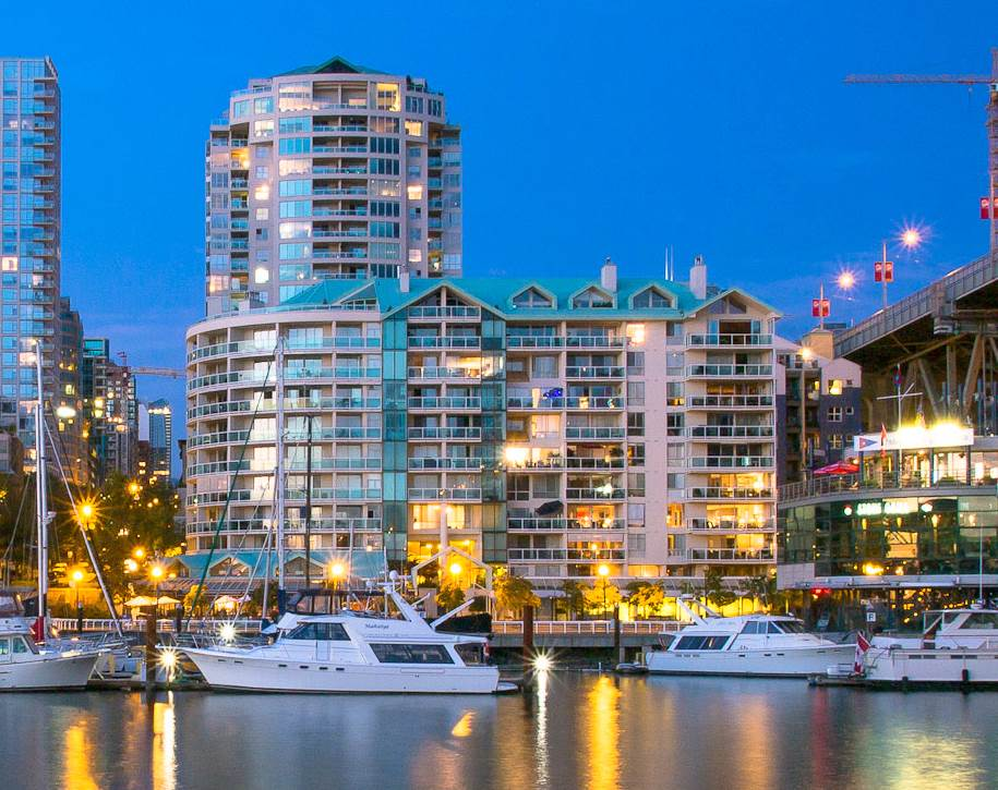 Condo Apartment at 709 1500 HOWE STREET, Unit 709, Vancouver West, British Columbia. Image 1
