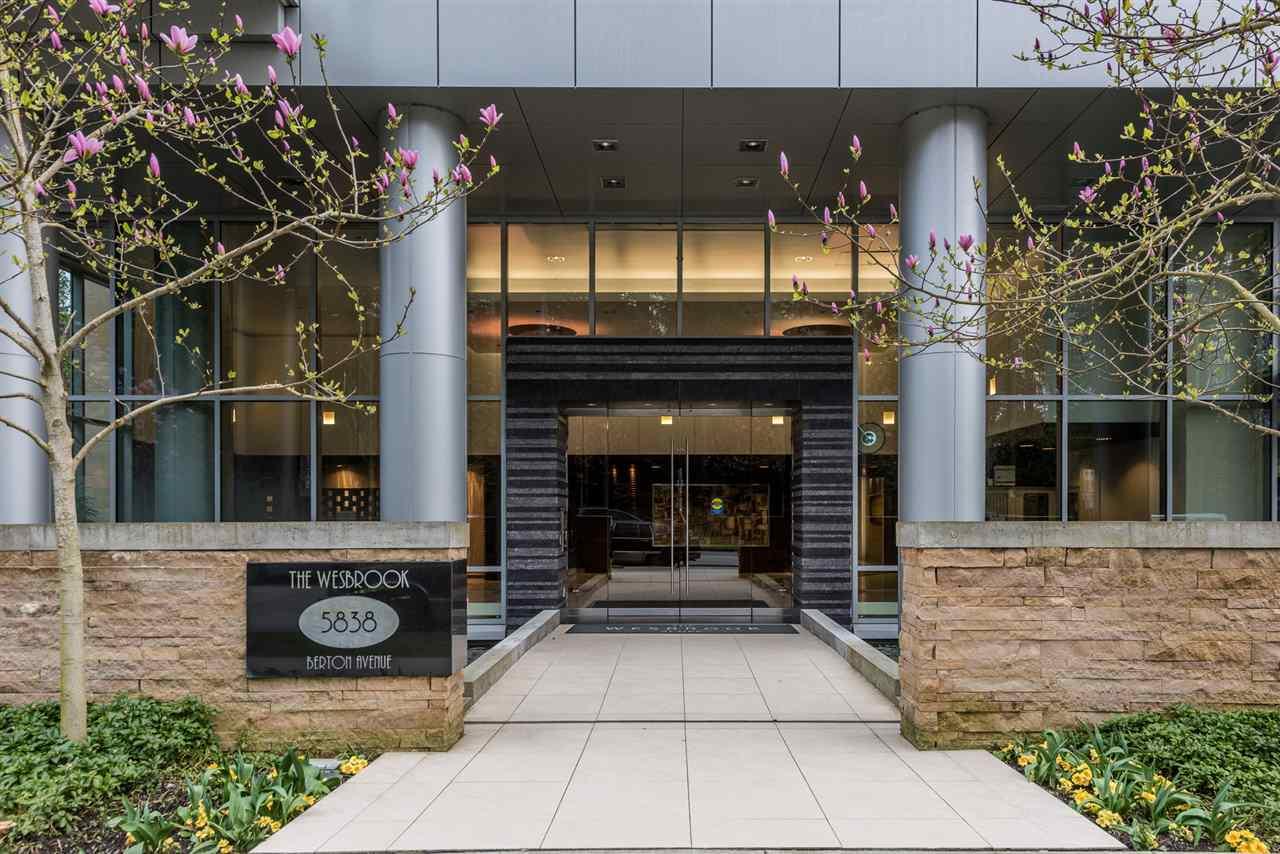 Condo Apartment at 1403 5838 BERTON AVENUE, Unit 1403, Vancouver West, British Columbia. Image 1