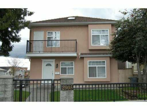 Half-duplex at 2905 KINGSWAY, Vancouver East, British Columbia. Image 1