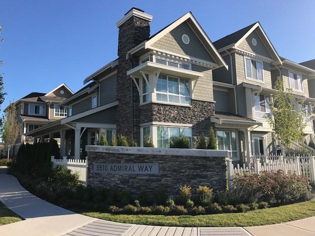 Townhouse at 1 5510 ADMIRAL WAY, Unit 1, Ladner, British Columbia. Image 1