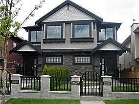 Half-duplex at 2887 KINGSWAY, Vancouver East, British Columbia. Image 2