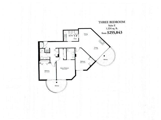 Condo Apartment at 503 6088 MINORU BOULEVARD, Unit 503, Richmond, British Columbia. Image 10